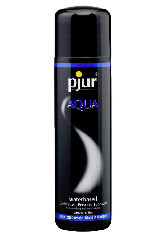Pjur Aqua Bottle 500 ml - Front