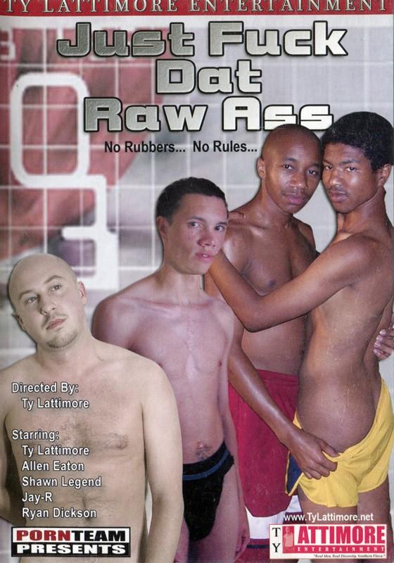 Just Fuck Dat Raw Ass DVD - Front