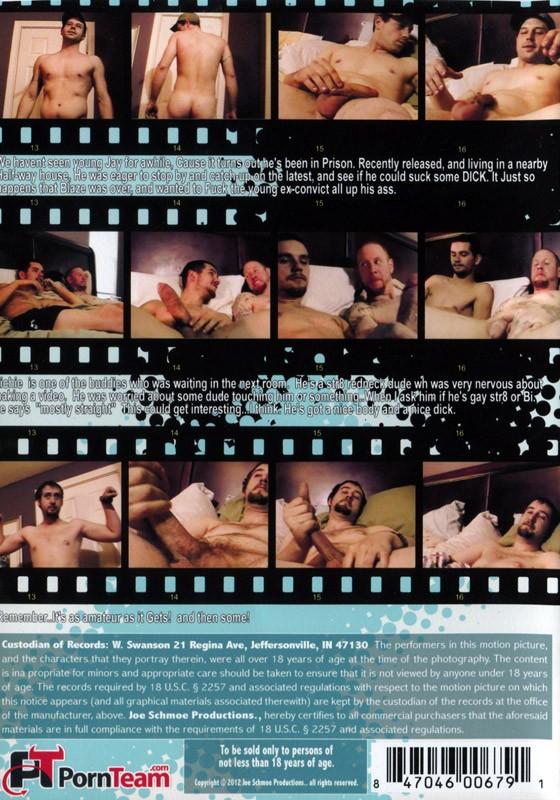 Joe Schmoe - The Real Houseboys of Redneckville DVD - Back