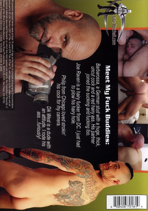 Jake Mitchell's Fuck Buddies DVD - Back