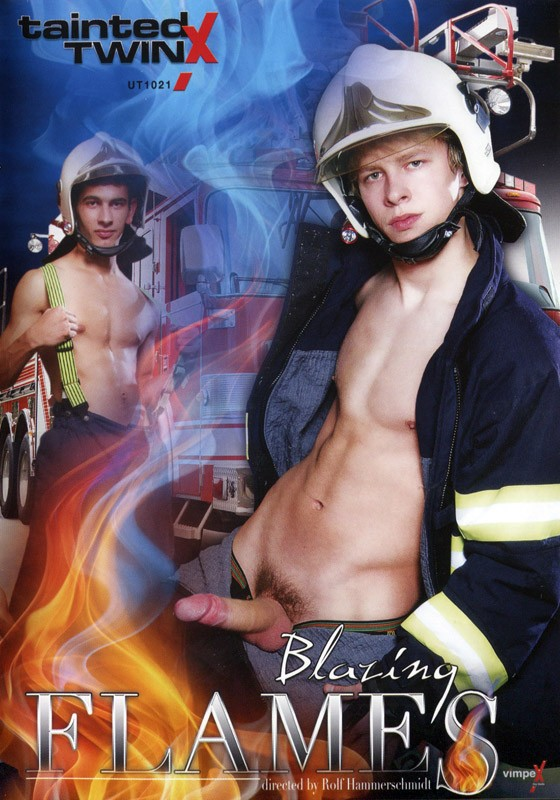 Blazing Flames DVD - Front