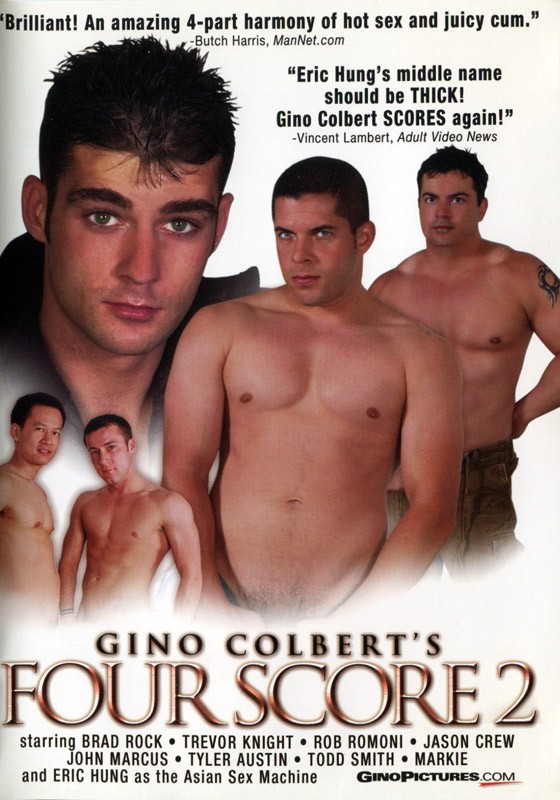 Gino Colbert's Four Scoure 2 DVD - Front