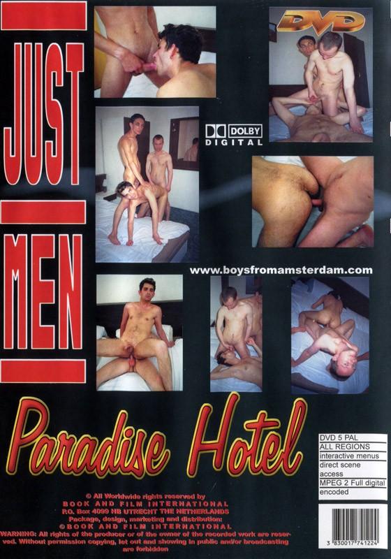 Paradise Hotel DVD - Back