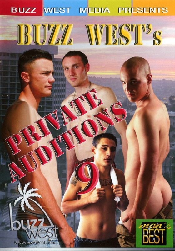 Buzz West's Private Auditions 9 DVD - Front
