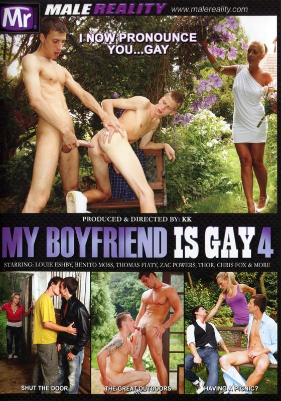 My Boyfriend Is Gay 4 DVD - Front