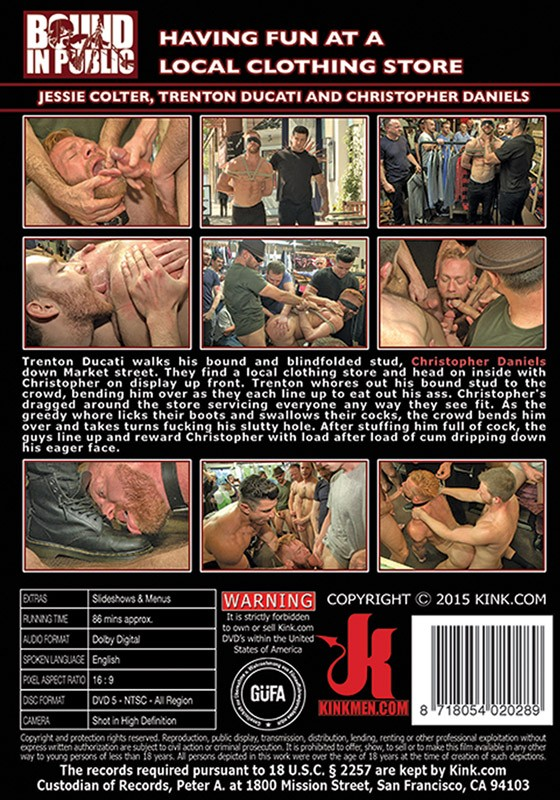 Bound in Public 87 DVD (S) - Back