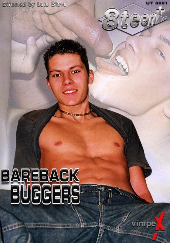 Bareback Buggers DVD - Front