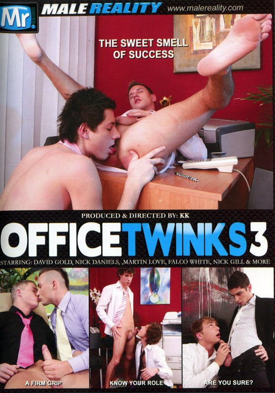 Office Twinks 3 DVD - Front