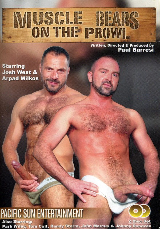 Bears On The Prowl DVD - Front