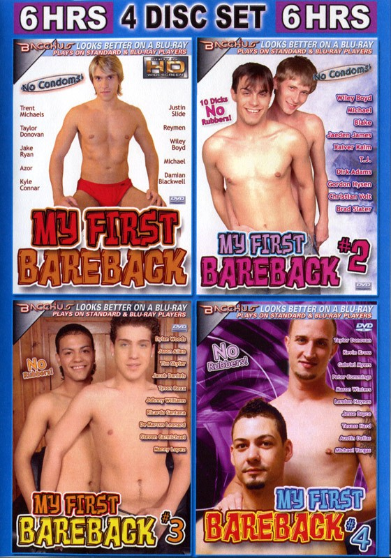 My First Bareback (4 Disk Set) - Front