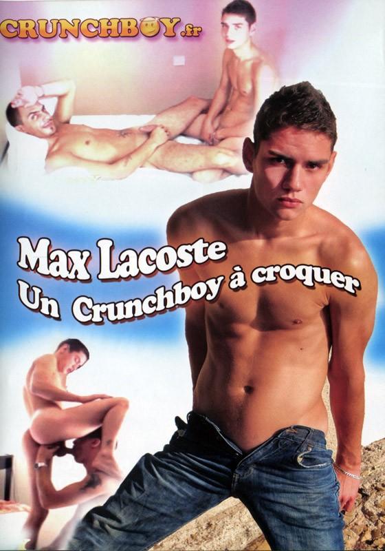 Max Lacoste un Crunchboy à croquer DVD - Front