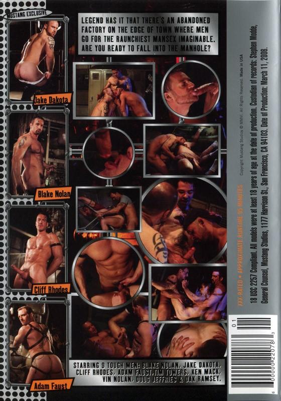 Manhole (Mustang) DVD - Back