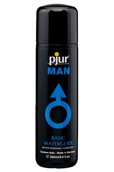 Pjur MAN Basic Waterglide Bottle 250 ml - Gallery - 001