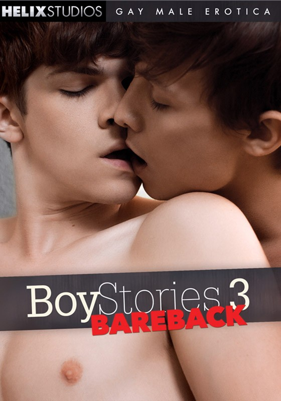Boy Stories 3: Bareback DVD - Front