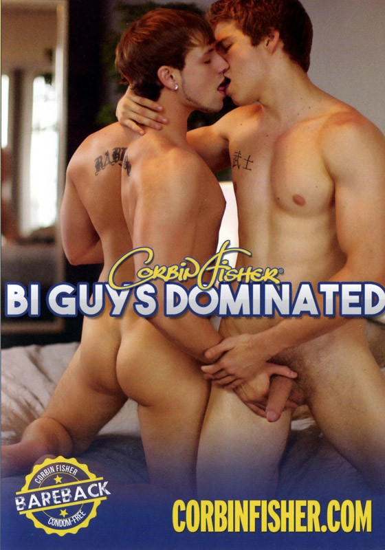 Bi Guys Dominated DVD - Front