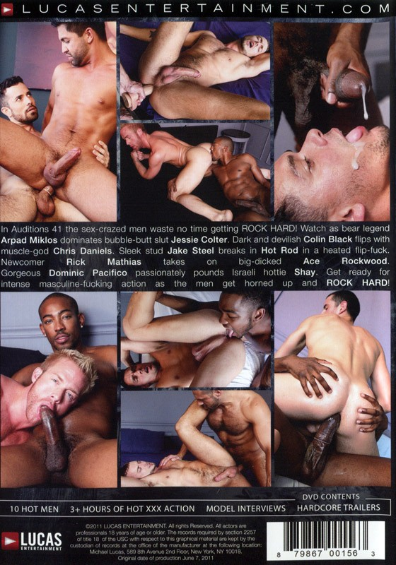 Auditions 41: Rock Hard DVD - Back