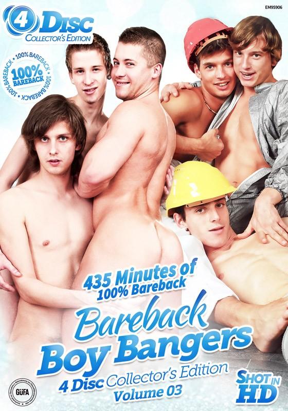 Bareback Boy Bangers Collector's Edition Volume 3 DVD - Front