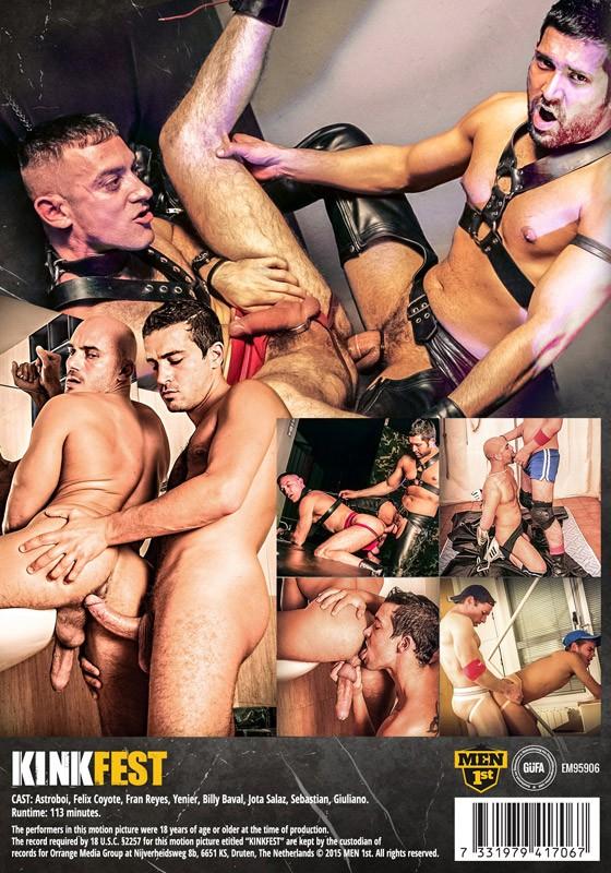 Kink Fest DVD - Back