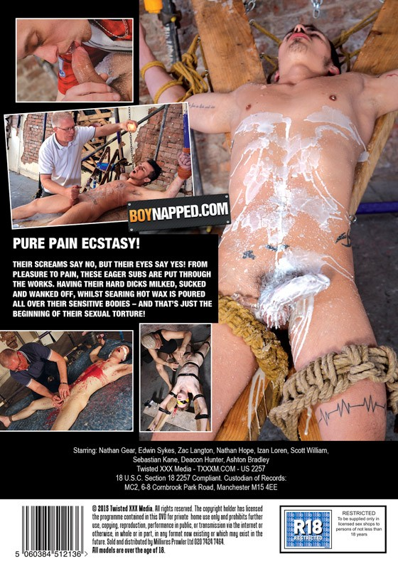 Intense Sensation DVD - Back