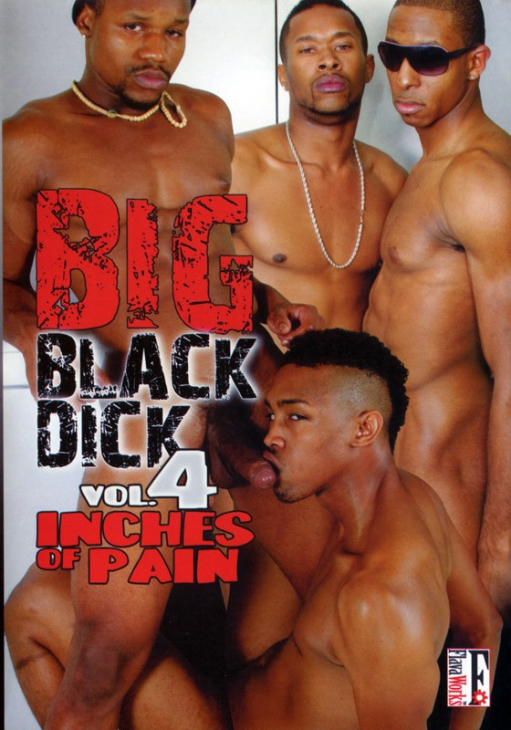 Big Black Dick Vol. 4 Inches of Pain DVD - Front