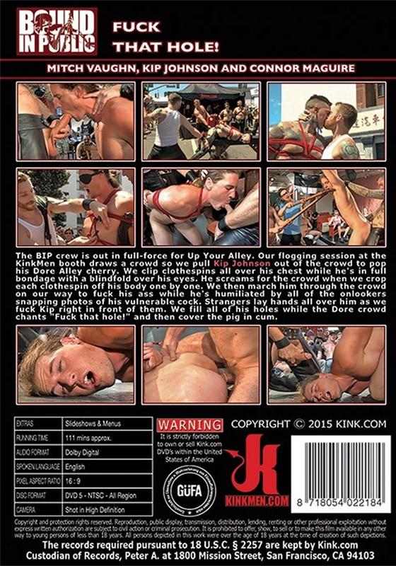 Bound in Public 93 DVD (S) - Back