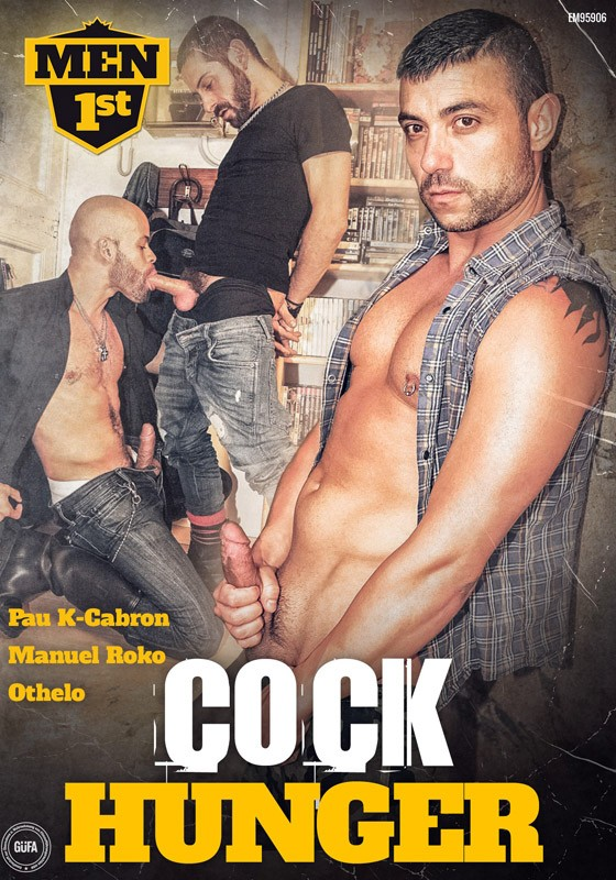 Cock Hunger DVD - Front