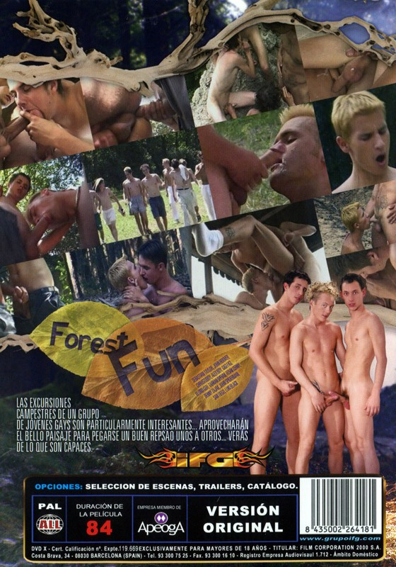 Forest Fun DVD - Back