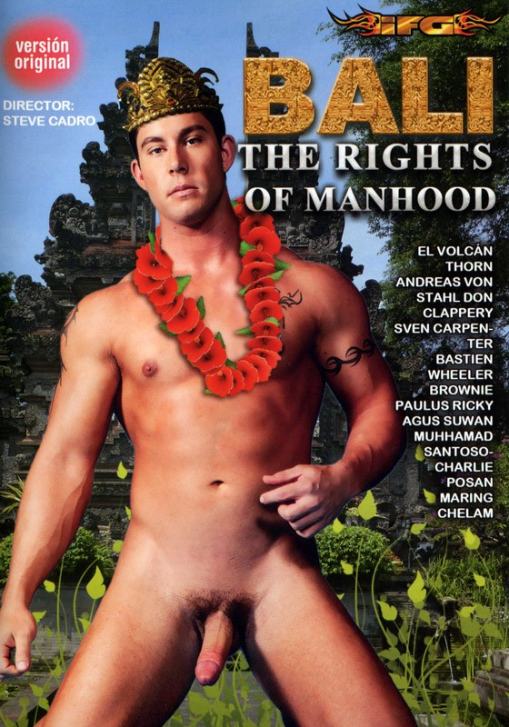 Bali The Rights of Manhood DVD - Front
