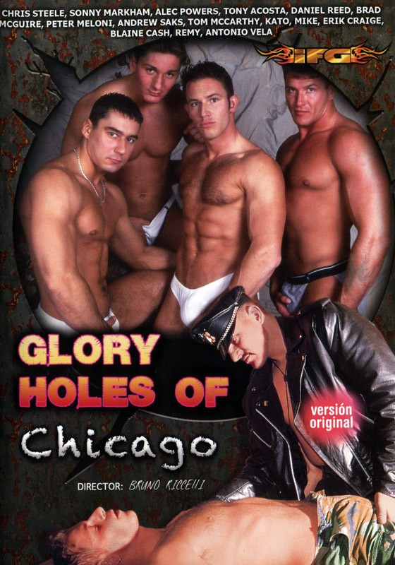 Glory Holes Of Chicago DVD - Front