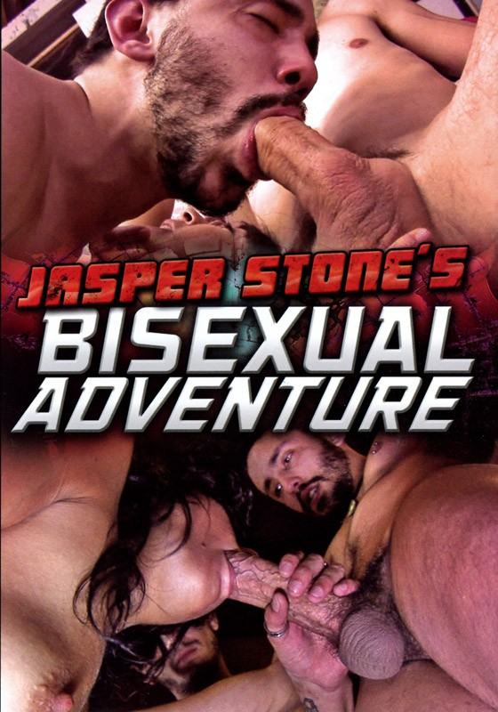 Jasper Stone's Bisexual Adventure DVD - Front