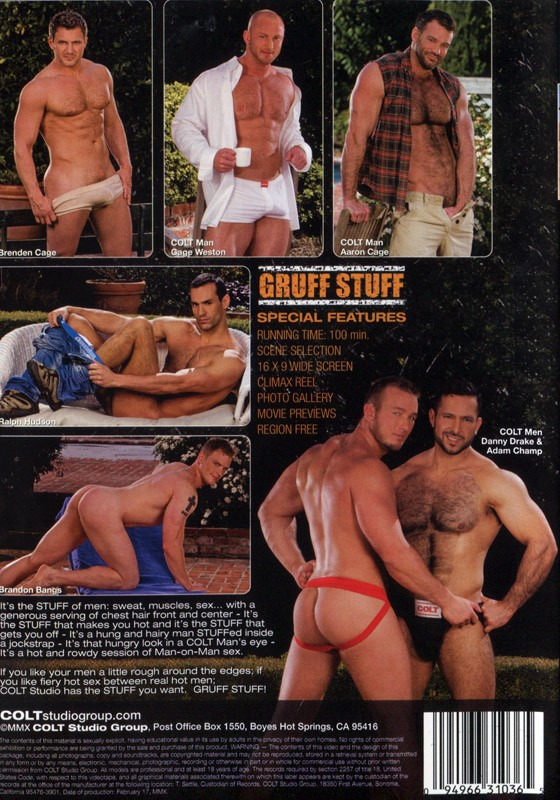 Gruff Stuff DVD - Back