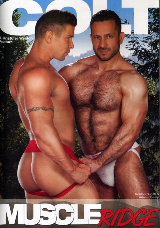 Muscle Ridge DVD - Front