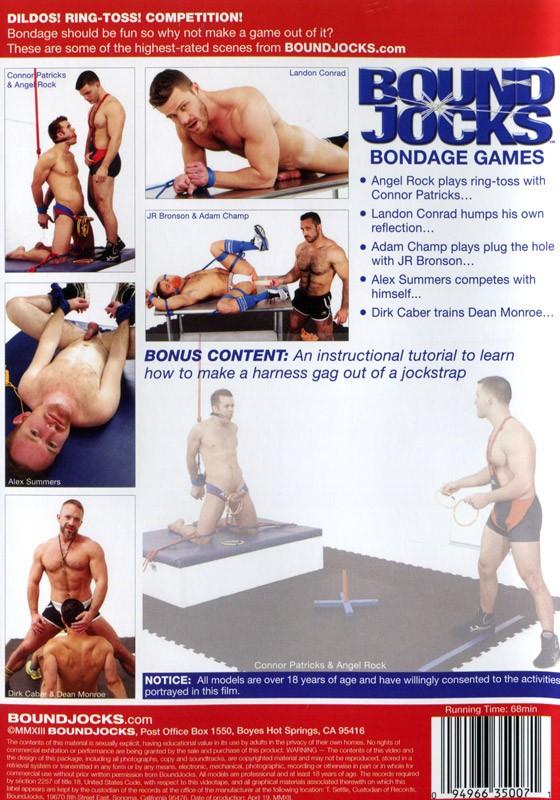 Bondage Games DVD - Back