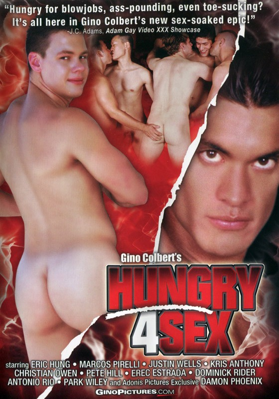 Hungry 4 Sex DVD - Front