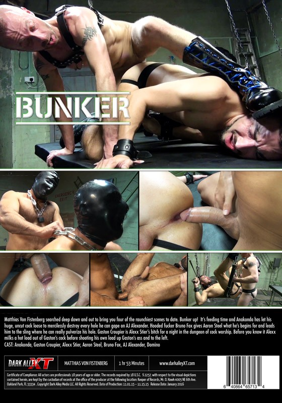 Bunker (Dark Alley) DVD - Back