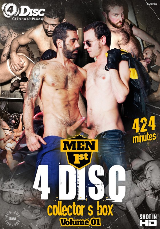 Men 1st 4 Disc Collector's Box volume 1 DVD - Front
