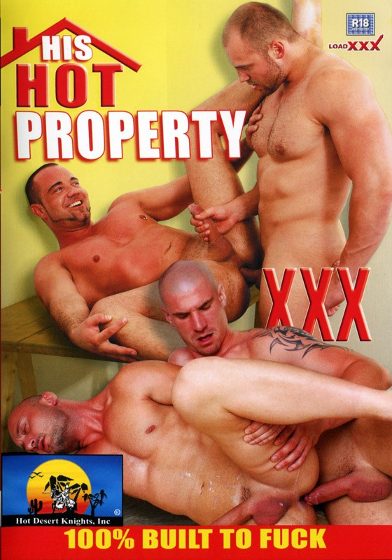 His Hot Property DVD - Front
