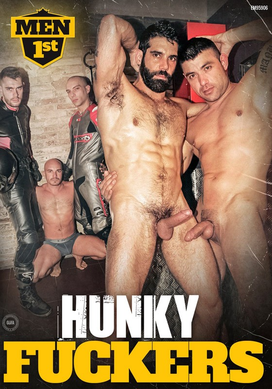 Hunky Fuckers DVD - Front