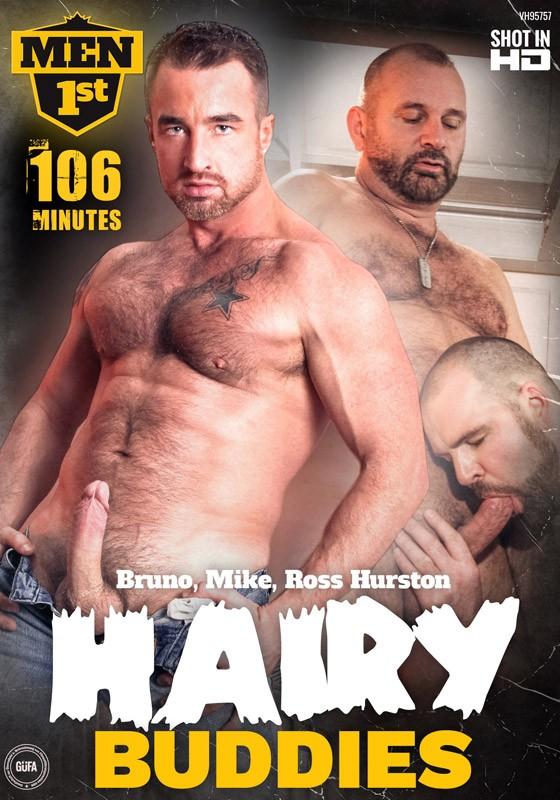 Hairy Buddies DVD - Front