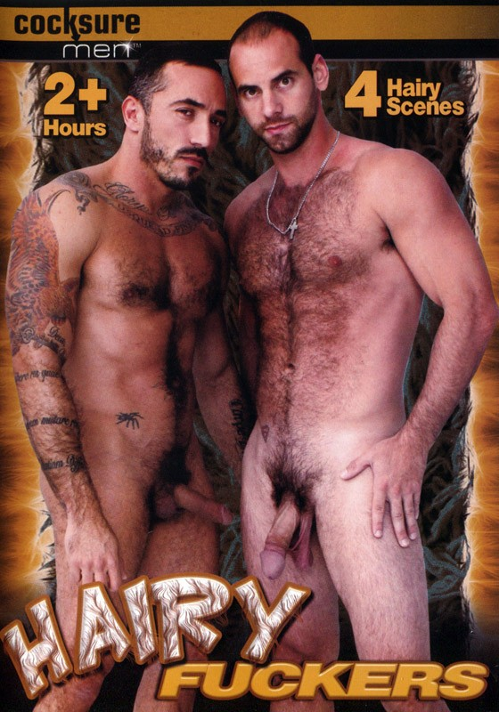 Hairy Fuckers DVD - Front