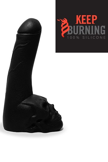 Cock with Skull - Black - Gallery - 002