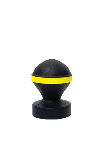 Fluo Valve Plug - Black & Yellow - Gallery - 001