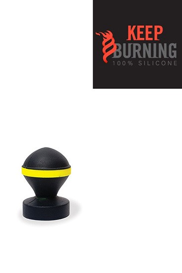 Fluo Valve Plug - Black & Yellow - Gallery - 002