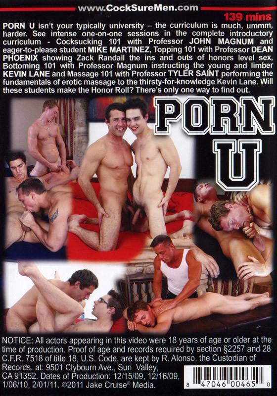 Porn U DVD - Back