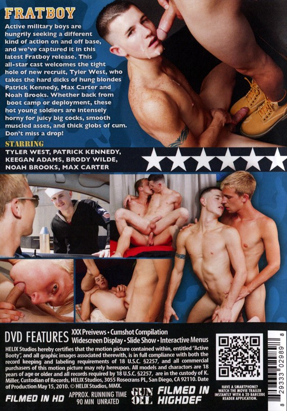 Active Booty DVD - Back