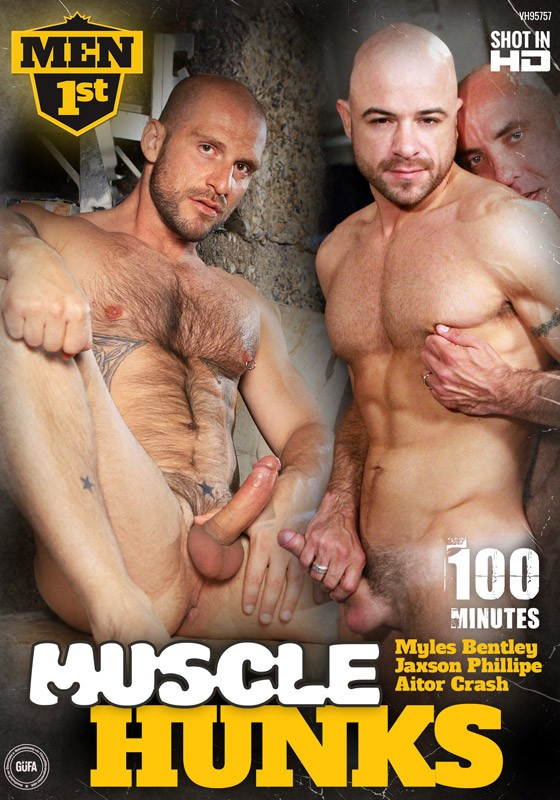 Muscle Hunks DVD - Front