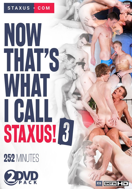 Now That's What I Call Staxus! 3 DVD - Front