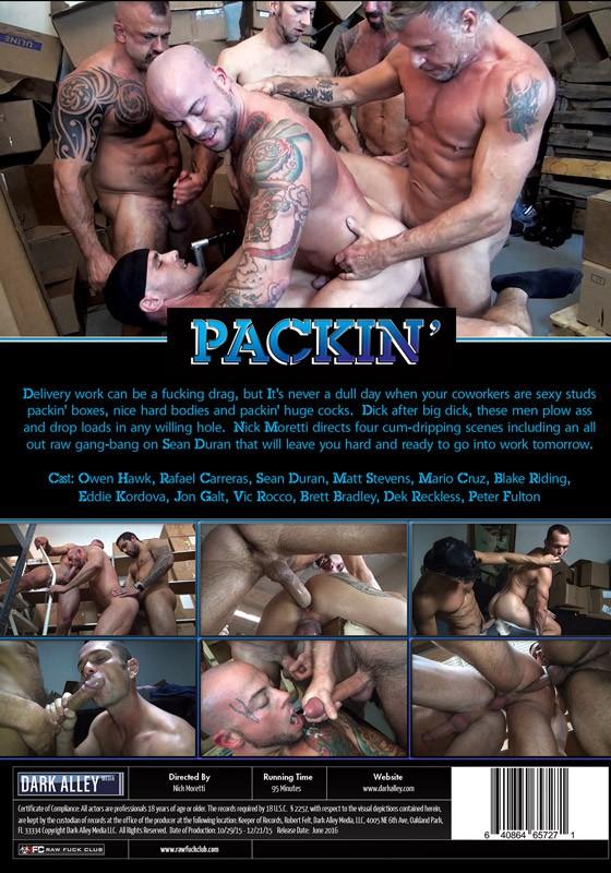 Packin' DVD - Back