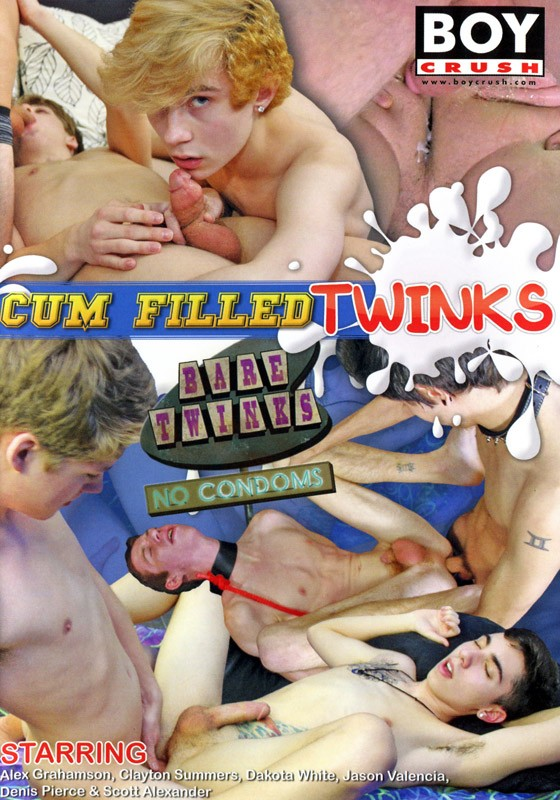 Cum Filled Twinks DVD - Front