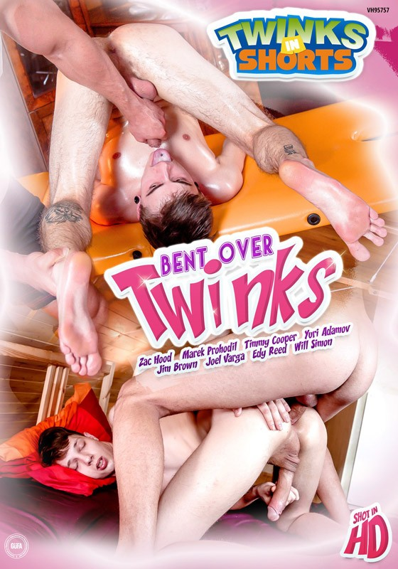 Bent Over Twinks DVD - Front